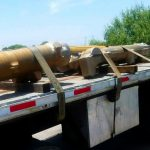 Transport or aerospacial parts  in Flatbed  by Mexicom Logistics