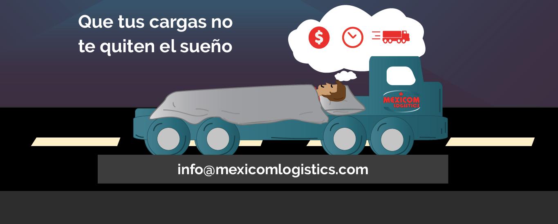 Transporte de Mercancías en plataformas entre México Estados Unidos y Canada Mexicom Logistics
