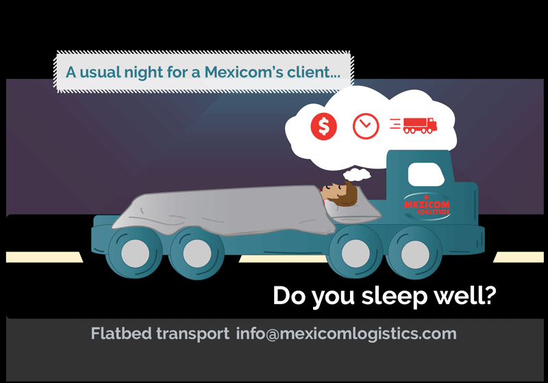 Freight transportation between Mexico, the United States and Canada