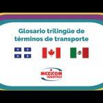glosario transporte trilingue espanol frances ingle