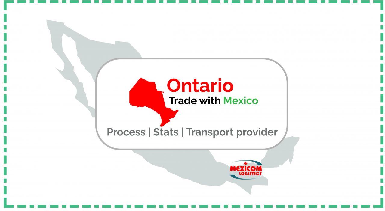 Transport provider to export from Ontario to Mexico