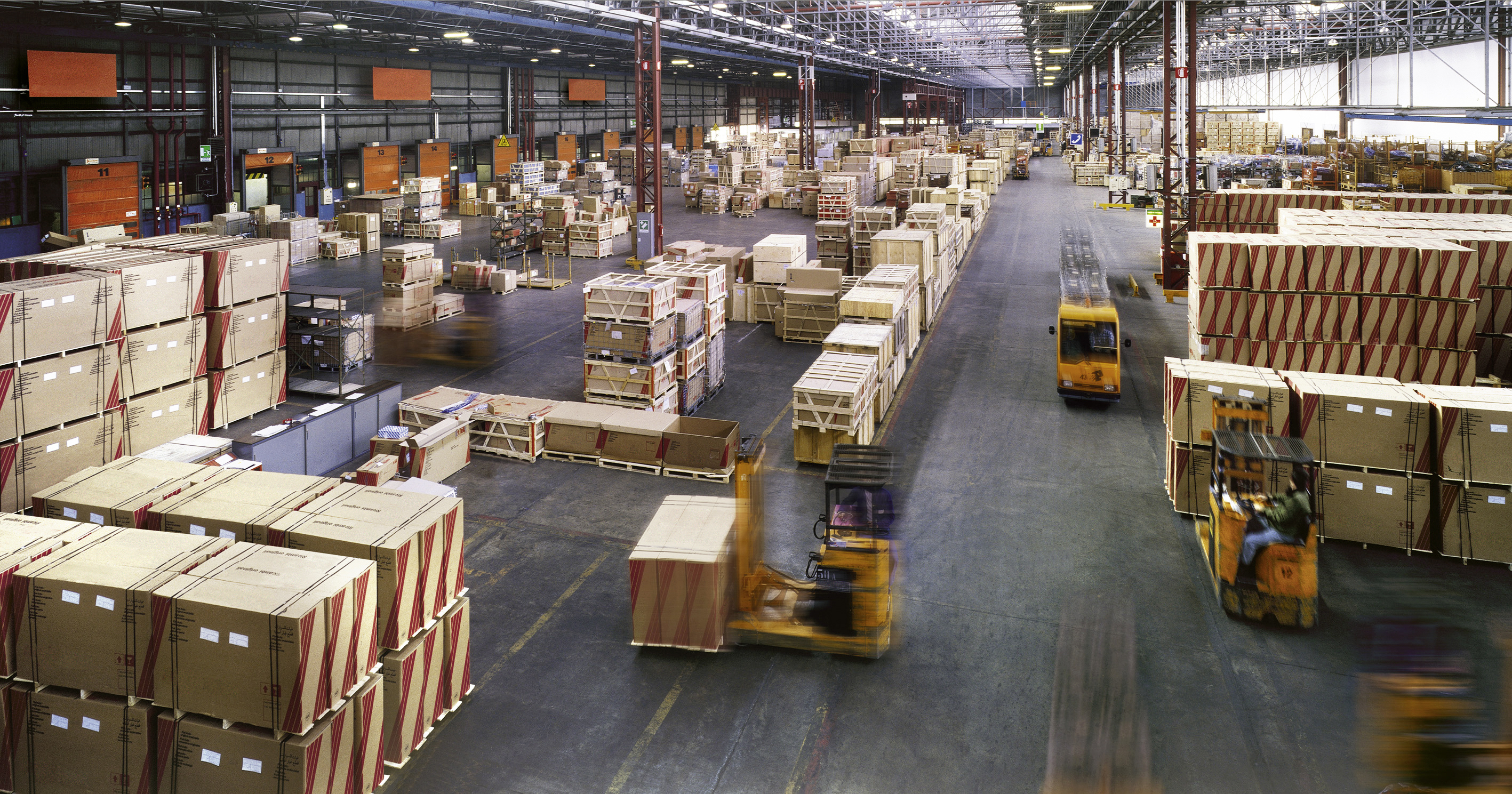 Warehousing and distribution Mexico US Canada
