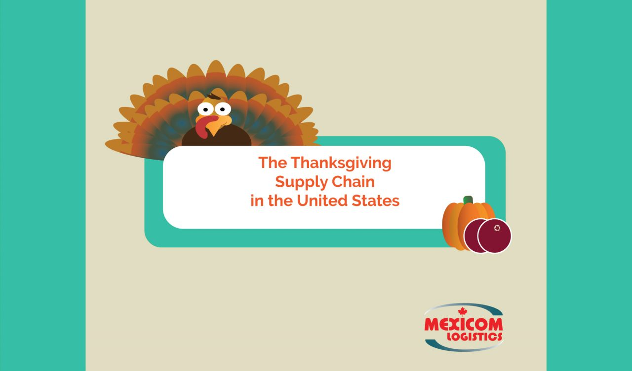 the Thanksgiving supply chain in united states