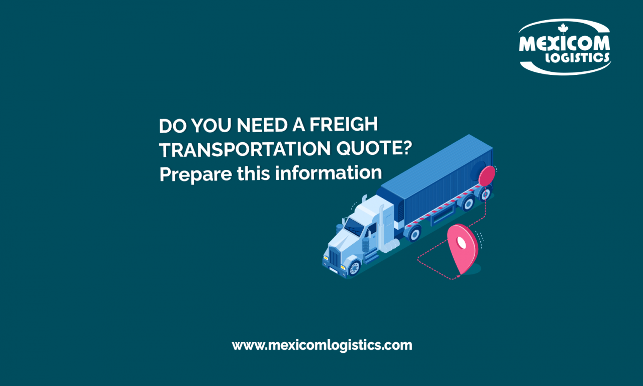 quote request information
